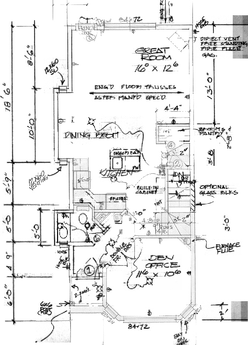 Infill House Plans House Plans Home Designs